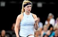 Свитолина отметилась лучшим ударом дня на турнире в Брисбене