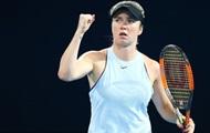 Удар Свитолиной признали лучшим в полуфиналах турнира в Брисбене