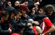 Косту удалили за празднование гола в первом матче после возвращения в Мадрид