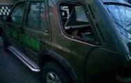 В Полтаве ограбили волонтерскую машину с продуктами для бойцов