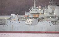 В России назвали причину аварии корабля Черноморского флота