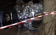 Под Киевом пьяный водитель слетел с дороги и погиб
