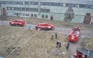 В Чернигове на предприятии произошел масштабный пожар