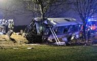 В Праге автобус столкнулся с авто