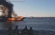 В Мексиканском заливе из-за пожара на плавучем казино пострадали 15 человек