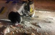 У Львові Mercedes в'їхав у патрульних, є постраждалі