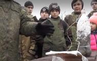 В Крыму школьников учили устанавливать мины
