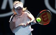Свитолина: Сегодня я не была готова показывать хороший уровень тенниса