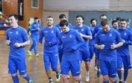 Сборная Украины по футзалу продолжает готовиться к Евро-2018