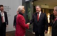 Лагард прокомментировала встречу с Порошенко