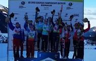 Украина – вторая в медальном зачете ЧЕ по биатлону