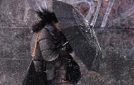Киевлян предупреждают о дожде и мокром снеге