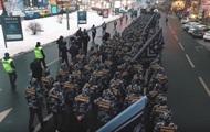 Националисты провели в Киеве военизированную акцию