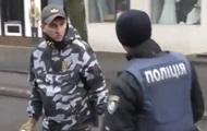 В Кременчуге активисты Национальных дружин подрались с полицией