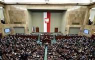 Сенат Польши не поменял