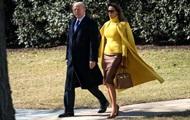 Мелания Трамп впечатлила ярким нарядом