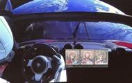 Tesla в космосе: реакция Сети