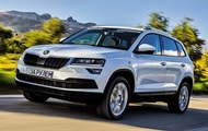Test drive of the new crossover Skoda Karoq