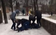 В Киеве Нацкорпус избил коммуниста