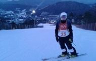 Первая украинская спортсменка стартовала на Олимпийских играх в Пхенчхане