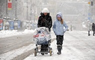 На выходных в Украине ожидается мокрый снег
