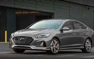 Hyundai showed the updated Sonata hybrid
