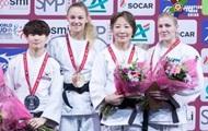 Билодед выиграла золото на турнире серии Grand Slam в Париже по дзюдо