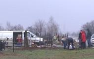 Пожар в лагере Одессы: тела детей эксгумировали