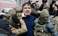 Появилось видео задержания Саакашвили