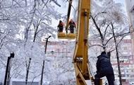 В Украине без света десять населенных пунктов