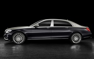 Declassified appearance of the new Maybach S-Class