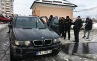 Под Киевом пьяный военком устроил массовое ДТП во дворе дома