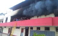 В Перу горел исправительный центр для подростков