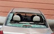 Полиция: 13 авто под Соломенским судом разбил одессит
