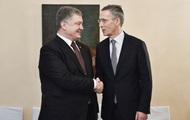 Порошенко попросил больше помощи у НАТО