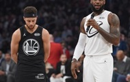 The all-star game NBA: Team LeBron beat team Curry