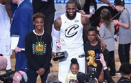LeBron James was the MVP of the all-star game