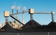 Украина снизила добычу угля почти на треть