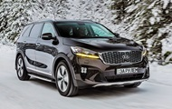 Test drive of the updated crossover Kia Sorento