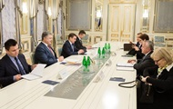 Poroshenko and Deputy Tillerson discussed peacekeepers