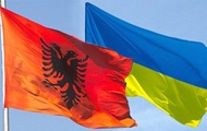 The Minister of foreign Affairs of Albania arrives in Ukraine