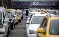 In Ukraine the majority of taxi drivers are working illegally