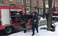 In Khmelnytskyi because of a fire in a high-rise rescuers launched a special operation