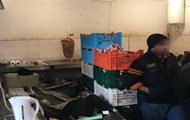 In Kiev, found the underground butcher shop with illegal immigrants