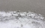 In Ivano-Frankivsk region fell black snow