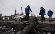 OSCE observers left the base in the Donbas