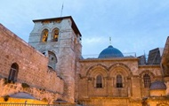 In Jerusalem closed the Church of the Holy Sepulchre