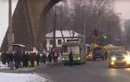 В Киеве из-за морозов массовые поломки троллейбусов