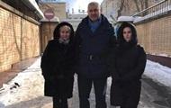 Сущенко встретился в СИЗО с женой и дочерью