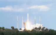 The United States launched a rocket Atlas V weather satellite